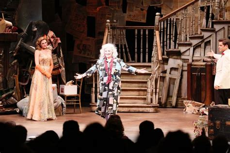 Grey Gardens The Musical by Photo Coverage Angela Lansbury More Attend Grey Gardens