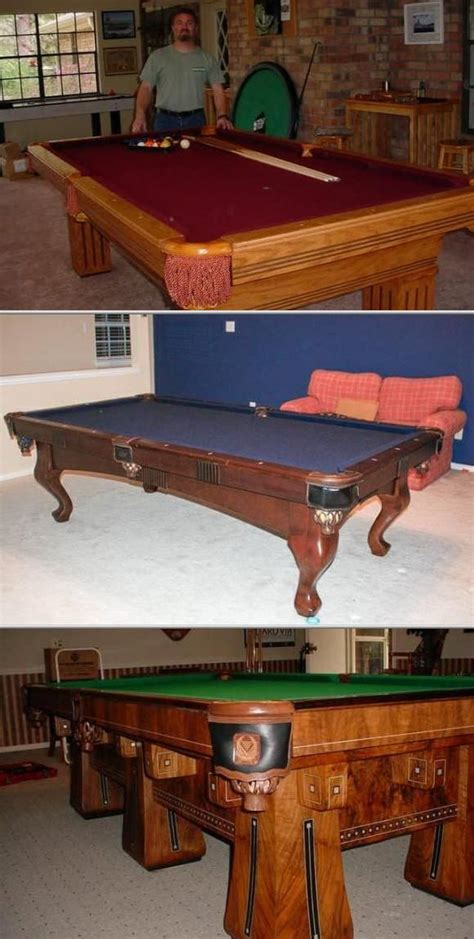 best 25 pool table repair ideas on concrete