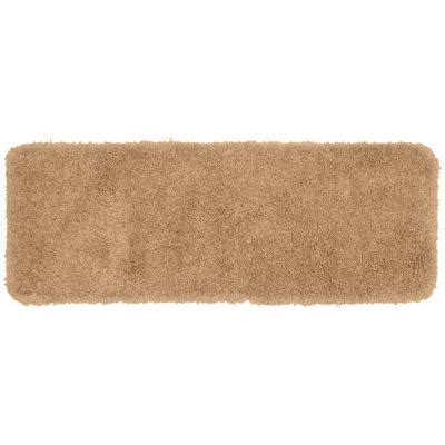 Garland Rug Serendipity Taupe 22 In X 60 In Washable Taupe Bathroom Rugs