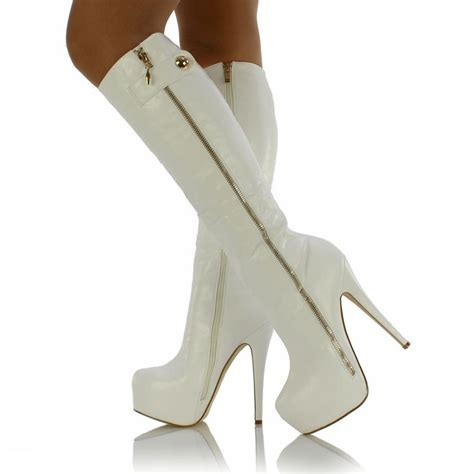 cheap knee high heels 17 best images about boots on platform boots
