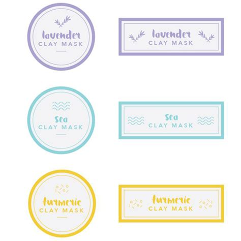 Printable Lip Balm Label Template
