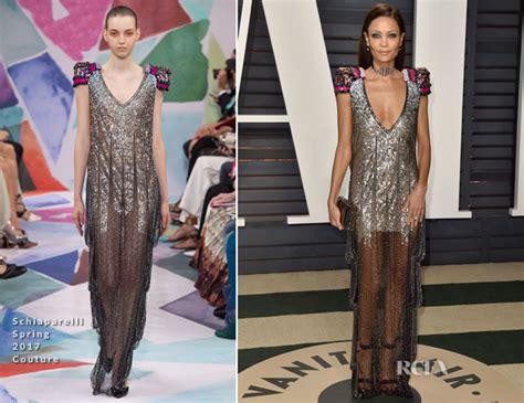 Catwalk To Carpet Thandie Newton Carpet Style Awards by Thandie Newton In Schiaparelli Couture 2017 Vanity Fair
