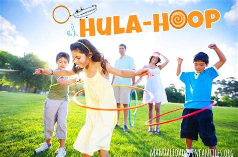 imagenes de niños jugando hula hula juegos del hula hoop manualidades infantiles