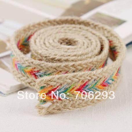Rope Bag Diy - handmade knitted bohemia cord decoration diy hemp rope bag