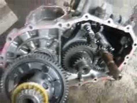 5 speed toyota transaxle teardown youtube