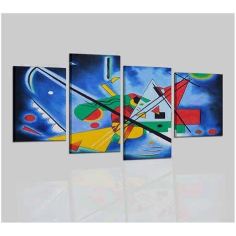 cuadros de kandinsky cuadro abstracto kandinsky pintado a mano calidad 100