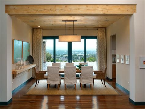 pics of dining rooms a pared palette punctuates the casual dining space
