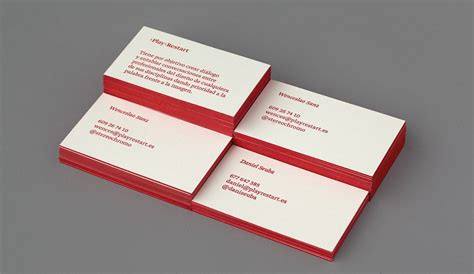 color business cards colored edge business cards 13 exles for inspiration
