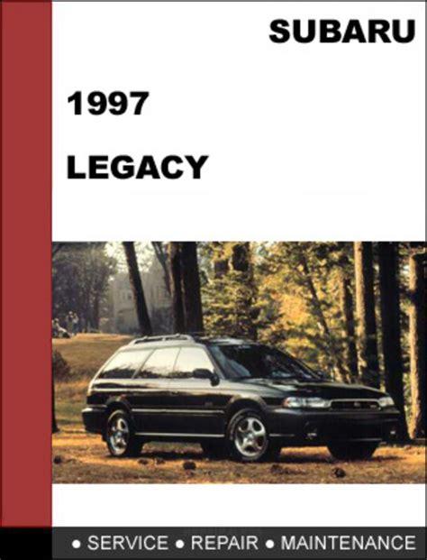 subaru legacy 1997 factory service repair manual download manual digital download
