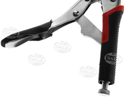 Tang Jepit 10 Locking Plier With Rubber Handle 9 quot nose locking plier vice wrench rubber grip mole grips tool ebay