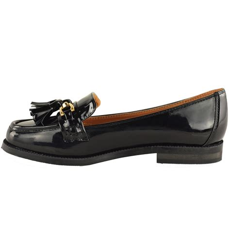 patent womens loafers womens flat loafers patent faux leather smart