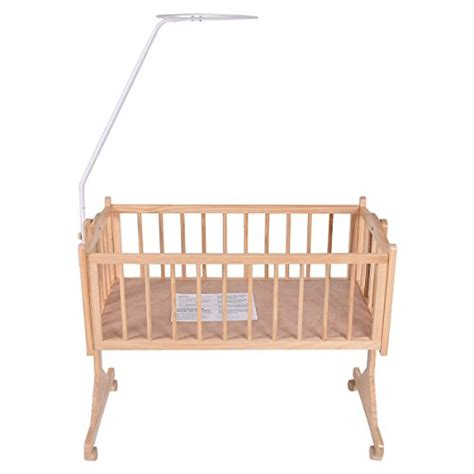 bassinet in bed costzon wood baby cradle rocking crib bassinet bed sleeper
