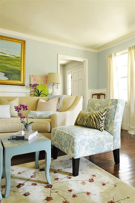 light blue and gold living room remodelaholic best paint colors for your home light blues