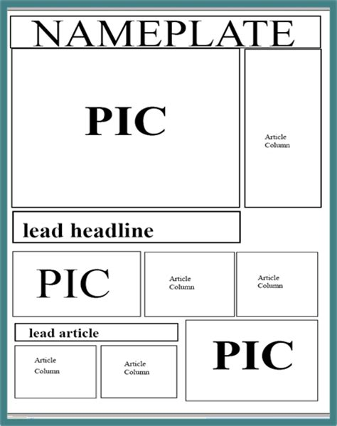 layout of an online article best photos of newspaper setup template newspaper