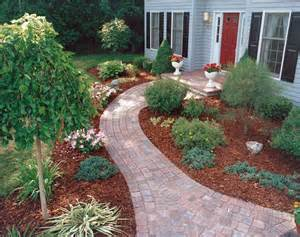 landscaping ideas for landscaping along a sidewalk