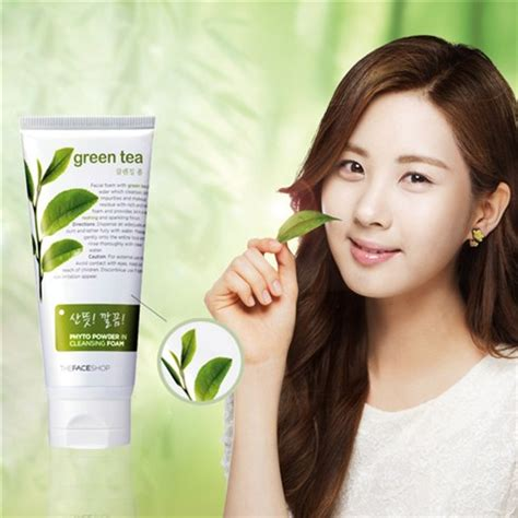 Phyto Cleanse Detox Tea by Phyto Powder In Cleansing Foam Green Tea The Shop Sữa