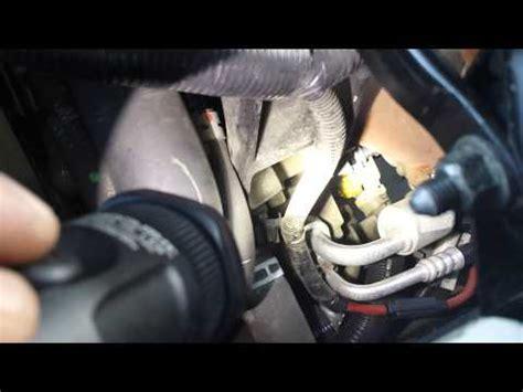 07 chevrolet impala 3.9 oil pressure sensor youtube