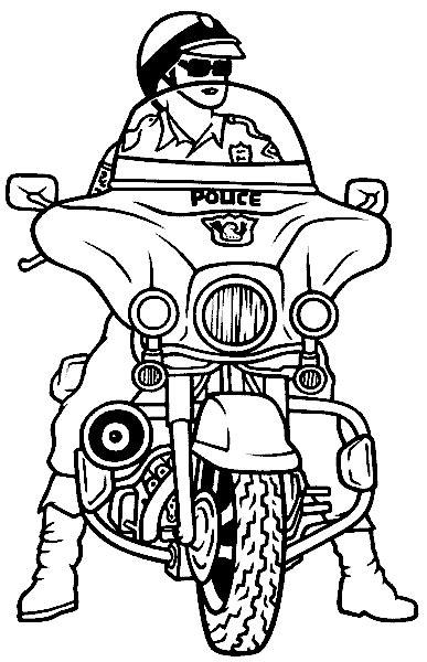 Motorrad Für Kinder by Malvorlagen Polizeimotorrad 01 Ausmalbilder