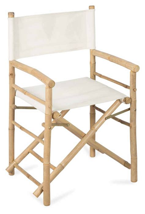 Canvas Directors Chair by Bamboo Directors Chair With Canvas April Oak