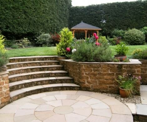 Terrasse Mit Geländer by Design Garten Treppe