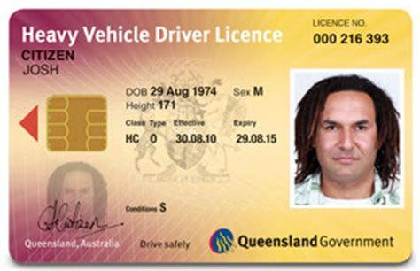 Car Licence Types Qld by The New Cards Department Of Transport And Roads