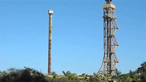 big tower free fall e big tower os elevadores do beto carrero world