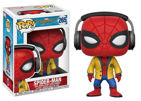 Funko Pop Marvel Spider Homecoming spider homecoming gets awesome funko pop figures