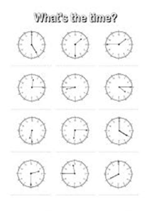 clock worksheets quarter after time worksheet new 641 time worksheet o clock and half past