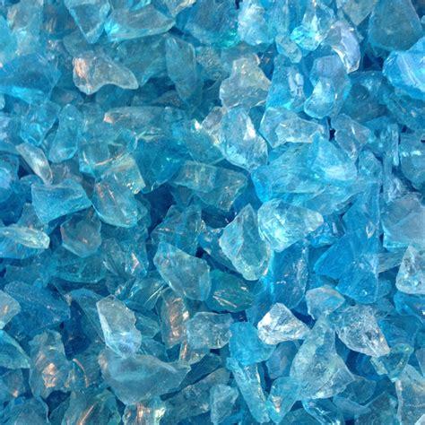 bulk glass blue sea glass 10 lb bag bulk recycled tumbled