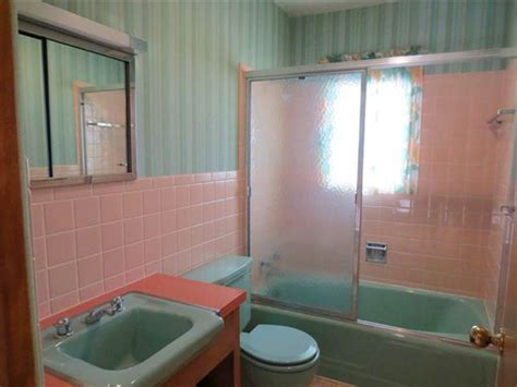 turquoise and pink bathroom 1960 interior design gem 27 photos laramie wy time