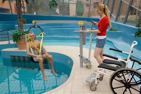 Pool Chair Lift by Wheelchair To Water Pool Lift Surehands