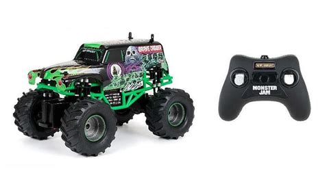 remote control grave digger monster truck rc remote control truck monster jam grave digger toy