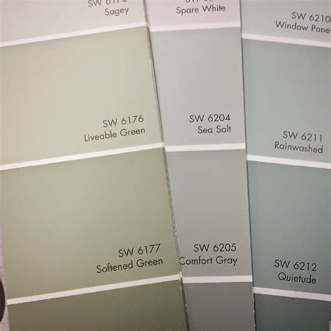 Sherwin Williams Gift Card - 28 sherwin williams paint color cards 104 236 161 39
