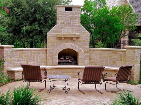 Outdoor Fireplace Dallas by Outdoor Fireplaces Eclectic Patio Dallas By Pool