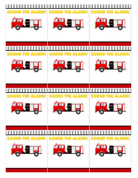 Kitchen Ideas Paint by Firetruck Themed Birthday Party With Free Printables How