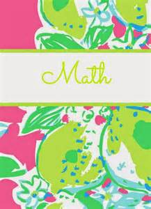 Back to school with lilly again lilly pulitzer binder covers 2014