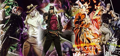 jojo stardust crusaders la g 233 n 233 ration z top 10 quels sont les bons animes du