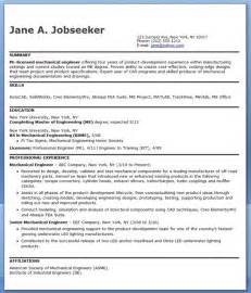 Resume Format For 1 Year Experienced Mechanical Engineer Mechanical Engineering Resume Sample Pdf Experienced