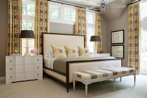 grey and yellow bedroom curtains photo page hgtv