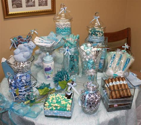 baby shower buffet excellent blue baby shower candy buffet 25 on baby shower