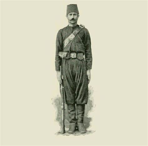 Ottoman Soldier An Ottoman Soldier History