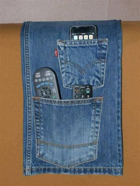 unusual ways to repurpose old jeans recycled things