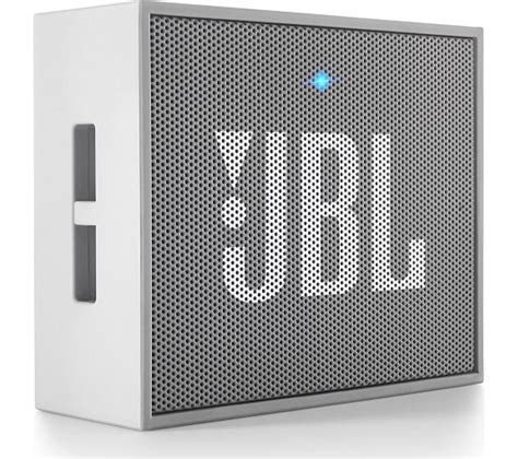 Wireless Bluetooth Portable Speaker Jbl Go With Speakerphone Original buy jbl go portable wireless speaker grey free delivery currys