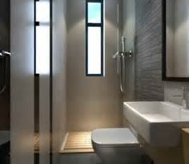 small washroom with shower