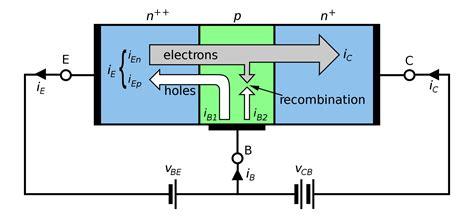 circuit diagram of npn transistor circuit symbol of npn transistor clipart best