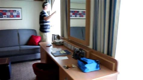 a walking tour of stateroom 6012 aboard the disney fantasy