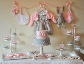 pink baby shower decorations kara s ideas pink gray baby shower ideas decor