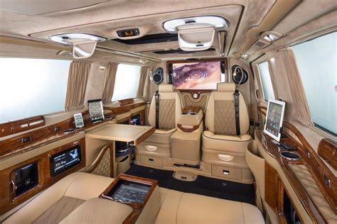 luxury mercedes van klassen excellence viano business luxury van mercedes benz