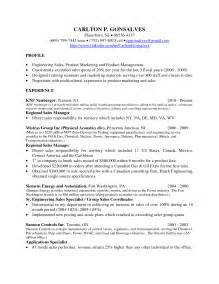 sales manager resume sle doc 28 sle inside sales resume resume for sales professional