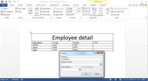 layout dialogue box word 2013 mathematical formula in word 2013